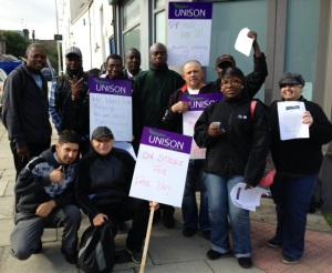 Kilburn NSL Picket 1