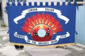 FBU London-banner