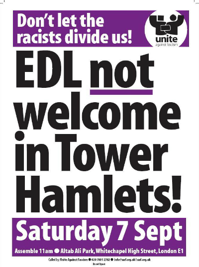 tower hamlets UAF