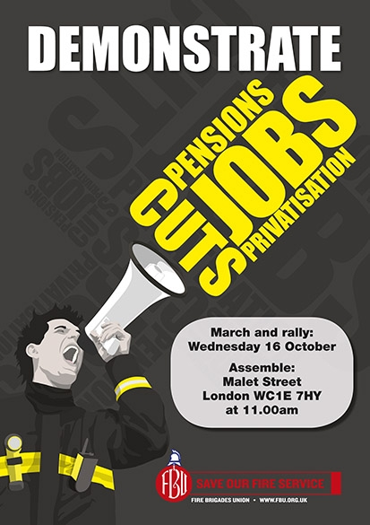 FBU Demo 16 oct